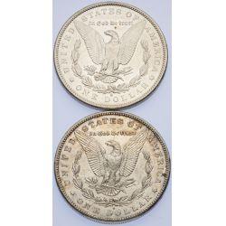 View 2: 1890-S & 1891-S Morgan Dollars