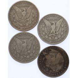 View 2: 1883-S, 1898-S, 1900-S, 1901-S Morgan Dollars