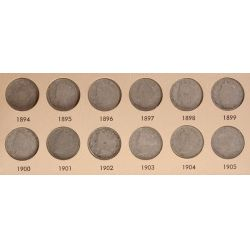 View 2: Liberty Nickels - Complete Set 1883-1912
