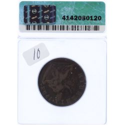 View 2: Ireland: 1723 1/2 Penny VF-20 (ICG)
