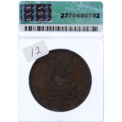 View 2: Ireland: 1822 Penny XF-40 Details (ICG)