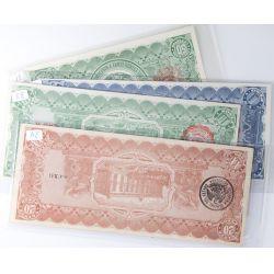 View 2: Mexico: 50, 20, 10, 1 Centavo Notes