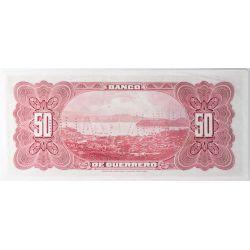 View 2: Mexico: Bank of Guerrero 50 Pesos