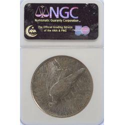 View 2: 1924-S Peace Dollar AU-50 (NGC)