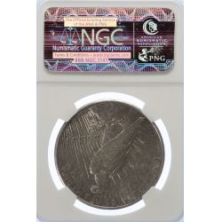 View 2: 1925-S Peace Dollar AU-50 (NGC)