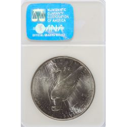 View 2: 1926-D Peace Dollar MS-65 (NGC)