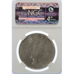 View 2: 1927-D Peace Dollar AU-53 (NGC)
