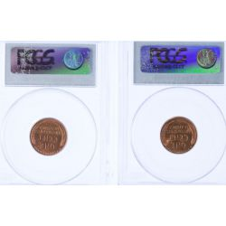 View 2: 1934 MS-64 & 1934-D MS-64 Lincoln Cents (PCGS)
