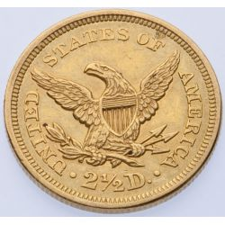 View 2: 1856 $2 1/2 Gold