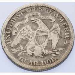 View 2: 1882 Seated Quarter
