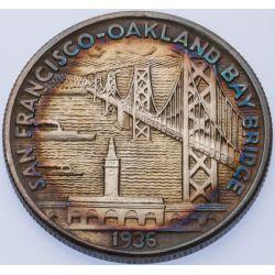 View 2: 1936 Bay Bridge Half Dollar