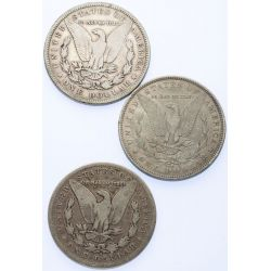 View 2: 1892 Morgan Dollar Year Set (3pcs.)
