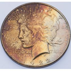 View 3: 1922 & 1922-D Peace Dollars