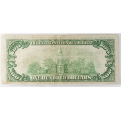 View 2: 1929 $100 Federal Reserve Note (Cleveland)