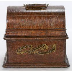 View 3: Portable Edison Standard Phonograph