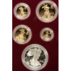 1995 Proof Gold American Eagle Set