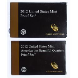 View 2: 2012 US Proof Sets