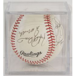 View 2: 1986 Cubs Autographed Baseball
