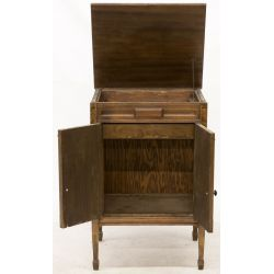 View 2: Victrola Cabinet only