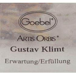 View 2: Goebel Artist Orbis by Gustav Klimt Hand-made Glassware