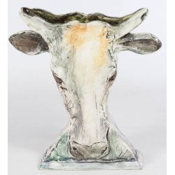 View 2: Shannon Pottery Cow Vase