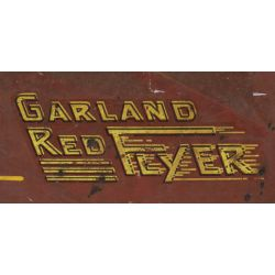View 2: Garland Red Flyer Pressed Steel Ride-on Dump Truck Toy