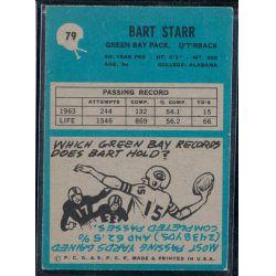 View 2: 1964 Bart Starr Philadelphia Eagles Football Card #79