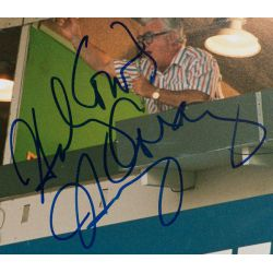 View 2: Harry Caray Signed Large Photo with JSA Authentication