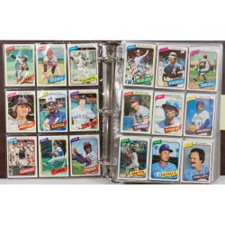 View 2: 1980 Topps Complete Baseball Card Set including Henderson Rookie Card