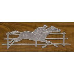 View 5: Buckley Mfg Horse Race Console Nickel Slot Machine