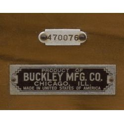 View 7: Buckley Mfg Horse Race Console Nickel Slot Machine
