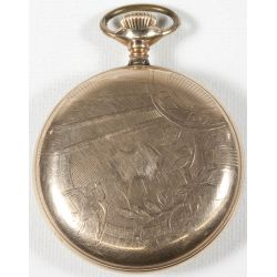 View 2: Illinois Pocket Watch Serial No 2606735 (1914)