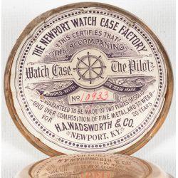 View 3: Columbus Pocket Watch Serial No 211517 (1893)