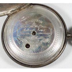 View 3: Huguenin Key Wind Pocket Watch
