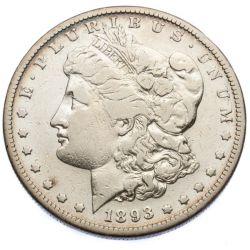 1893-S $1 VF