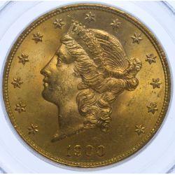 1900 $20 Gold MS-65 PCGS