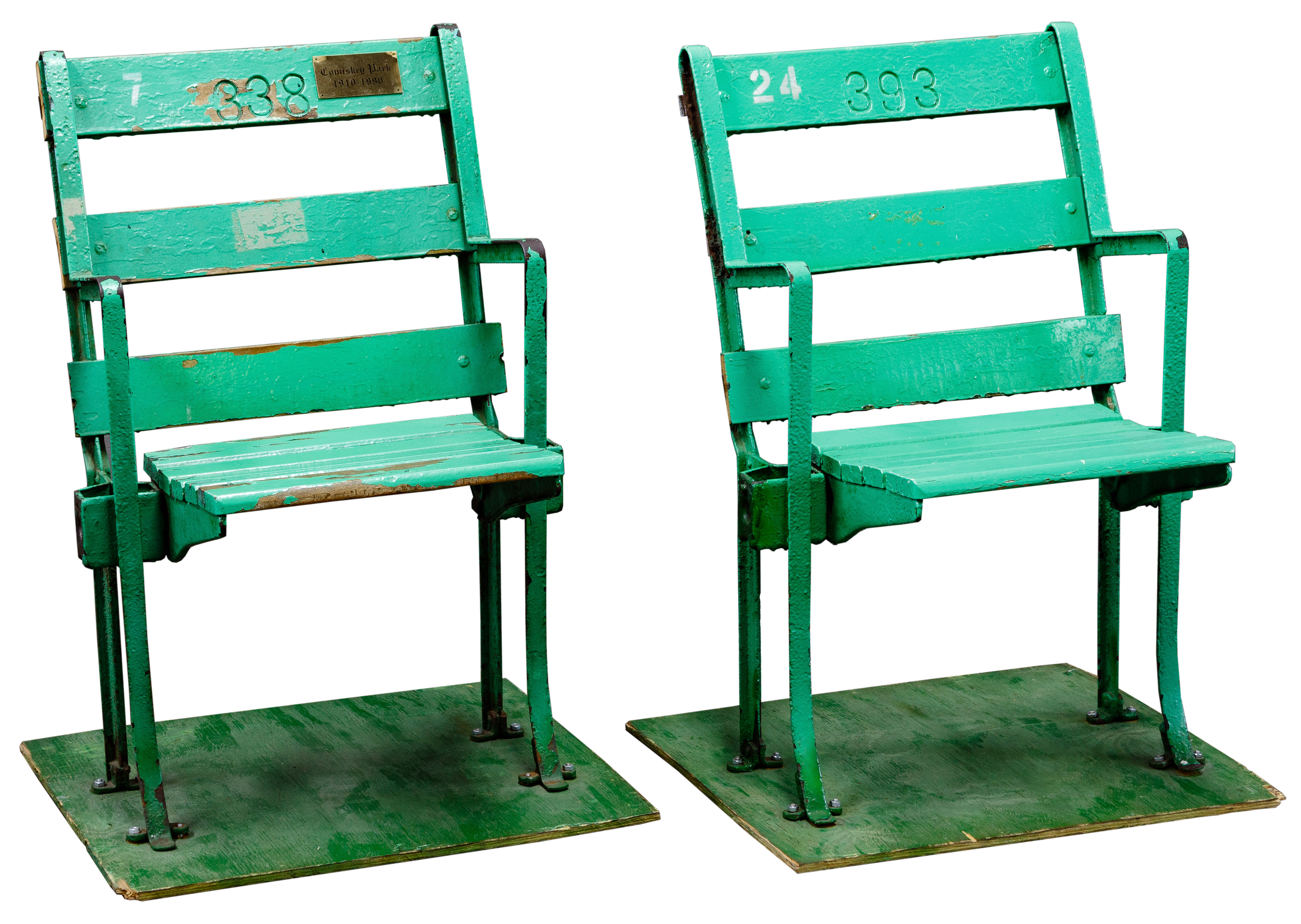 Terrific Chicago White Sox Comiskey Park Stadium Seats Onthecornerstone Fun Painted Chair Ideas Images Onthecornerstoneorg