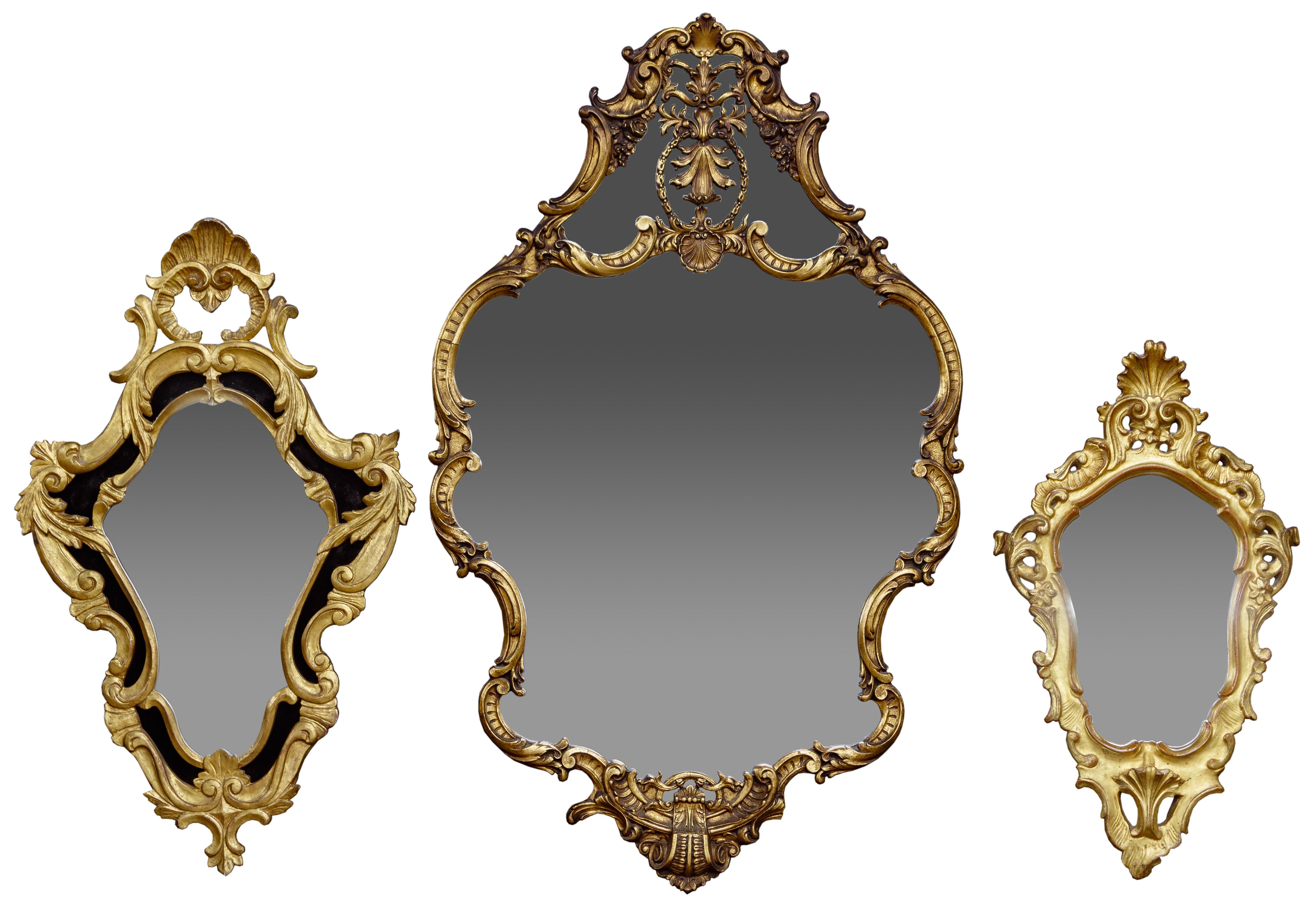 Ornate Wall Mirror Assortment