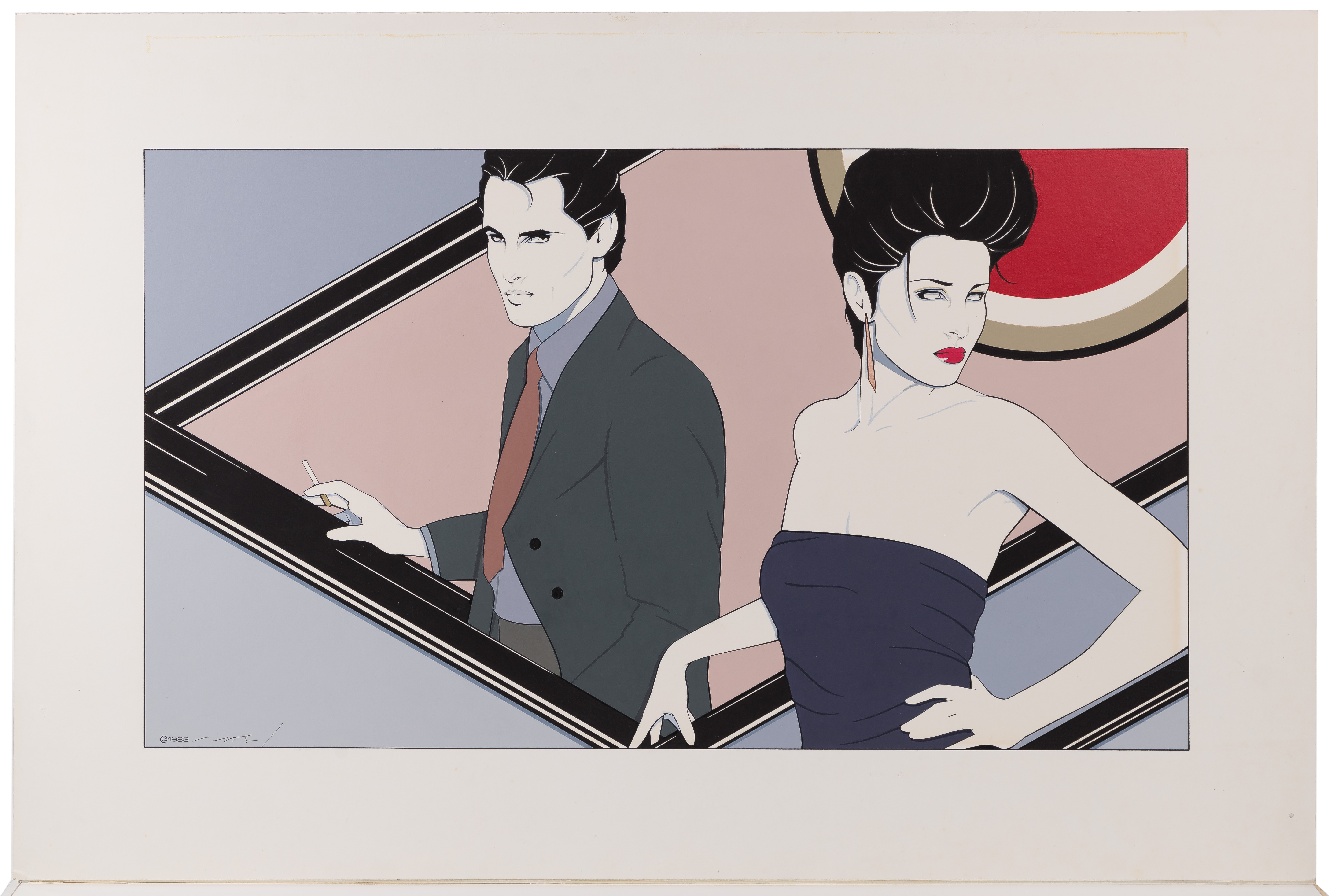 Patrick Nagel Paintings Artwork For Sale Patrick Nagel Art Value Price Guide