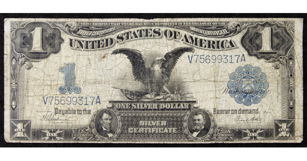 1899 Silver Certificates