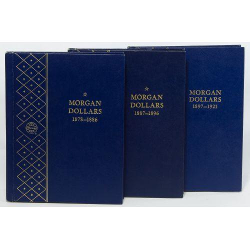 1878-1921 Morgan $1 Partial Set F-MS