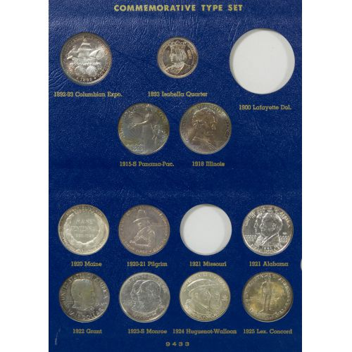 US Commemorative Type Set