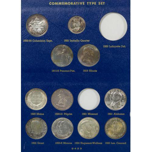 US Commemorative Type Set
