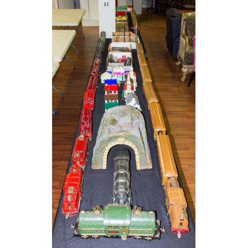 American Flyer and Lionel Train Collection