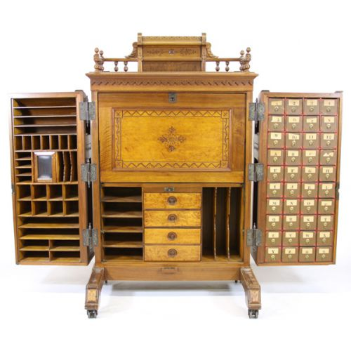 Wooton Secretary Desk