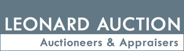 Leonard Auction, Inc. logo